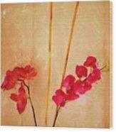 Simple Floral Arrangement  Wood Print