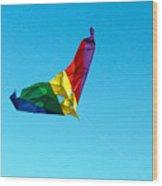 Simple Kite Wood Print