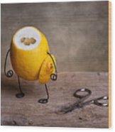 Simple Things 11 Wood Print by Nailia Schwarz
