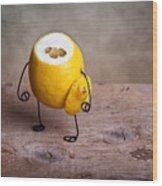 Simple Things 12 Wood Print by Nailia Schwarz