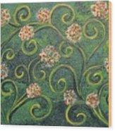 Simply De Vine Wood Print
