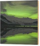Simply Glowing Wood Print