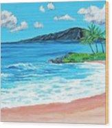 Simply Maui 18 X 24 Wood Print