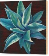 Simply Succulent Wood Print