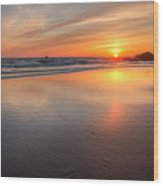 Simply Sunset Wood Print