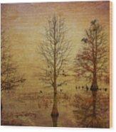 Simply Trees Wood Print