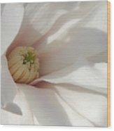 Simply White Wood Print