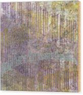 Simultaneous Contrast Wood Print