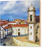 Sines Portugal Wood Print