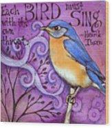 Sing Wood Print