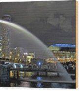 Singapore Merlion Wood Print