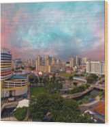 Singapore Rochor Commercial And Residential Mixed Area Wood Print
