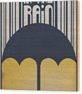 Singin' In The Rain Wood Print by Megan Romo