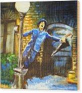 Singin In The Rain Wood Print