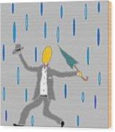 Singin' In The Rain Wood Print