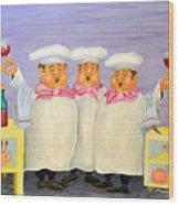Singing Tenorloins Wood Print