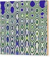 Single High Rise Abstract Phoenix Wood Print