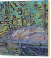 Singleton Granite Wood Print