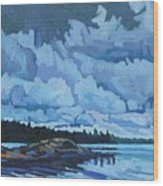 Singleton Islands Wood Print