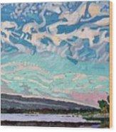 Singleton Storm Wood Print