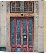 Sintra Door Wood Print