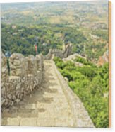 Sintra Moorish Castle Wall Wood Print