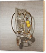 Sioux Drill Motor 1/2 Inch Wood Print