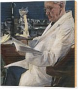 Sir Alexander Fleming Wood Print