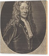 Sir Christopher Wren Wood Print