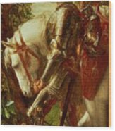 Sir Galahad Wood Print
