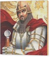Sir Gawain Wood Print
