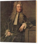Sir Isaac Newton  Wood Print