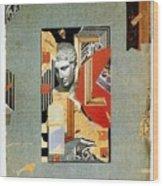 Sir John Soane's Museum - London Underground, London Metro - Retro Travel Poster - Vintage Poster Wood Print