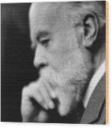 Sir Oliver Lodge 1851-1940, British Wood Print by Everett