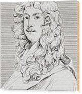 Sir Peter Lely, 1618 Wood Print