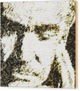 Sir Sean Wood Print by Andrea Barbieri