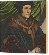 Sir Thomas More Wood Print