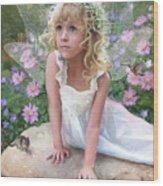 Sissy Fairy Wood Print