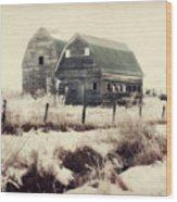 Sister Barns Wood Print