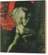 Sisyphus Wood Print