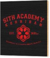 Sith Academy Wood Print