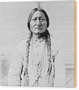 Sitting Bull, A Hunkpapa Lakota Tribal Wood Print