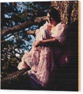 Sitting In A Tree Wood Print