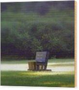 Sitting In The Sun Wood Print