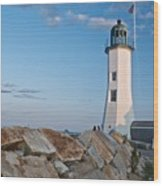 Situate Lighthouse Wood Print