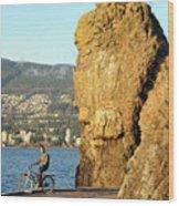 Siwash Rock Stanley Park II Wood Print