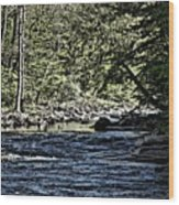 Six Mile Creek Ithaca Ny Wood Print