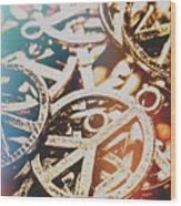 Sixties Peace Revolution Wood Print