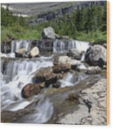 Siyeh Bend Going-to-the-sun Glacier National Park-5 Wood Print
