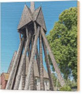Sjosas Old Church Wood Print